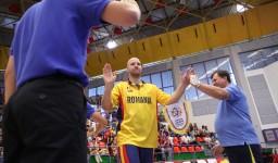 Mihai Silvasan la echipa nationala in 2012.