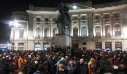 Protest in Bucuresti. Manifestul colectiv.