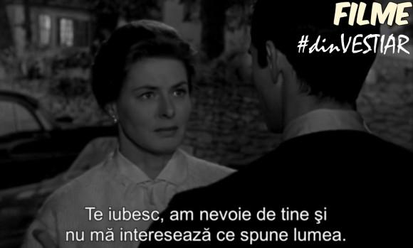 Ingrid Bergman in filmul Va place Brhams (Goodbye again)