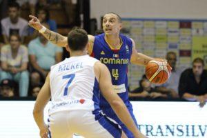 Andrei Mandache este capitanul nationalei Romaniei de baschet la EuroBasket 2017