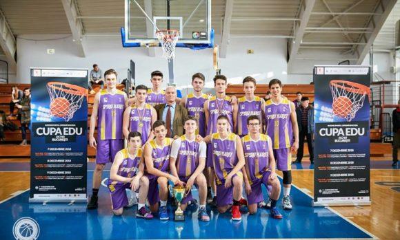 Echipa de baschet Spiru Haret 2018